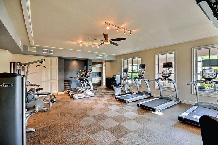 The Charleston Boca Raton Luxury Apartments newly renovated gym