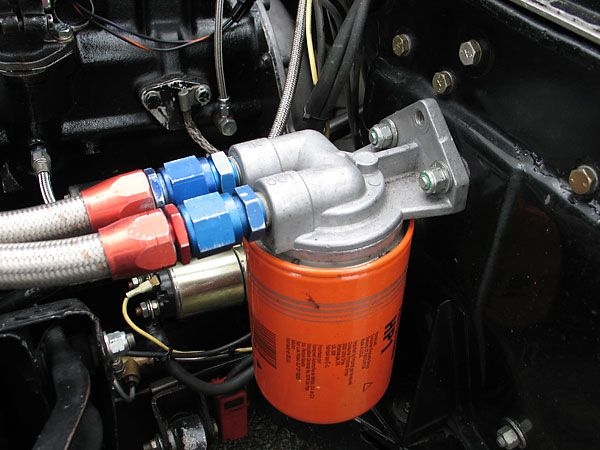 Fram HP1 oil filter, remotely mounted  | Triumph Spitfire