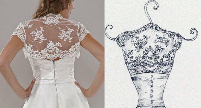 Ellie Dress – Pen | Pretty as a Picture  #weddingdress #weddingdresssketch #weddingdressdrawing #beautifulweddingdress #lacedress