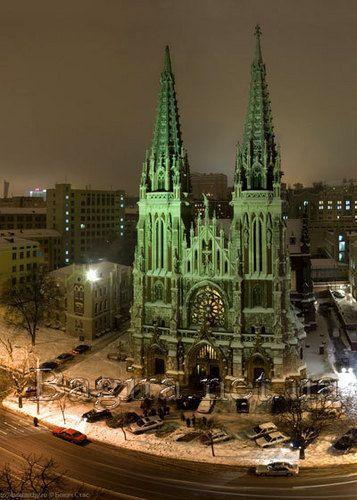 St. Nicholas Roman Catholic Cathedral, Kiev,  Ukraine