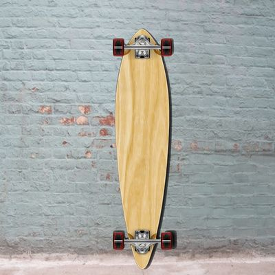 This blank board gets you a quality cheap pintail longboard from Punked longboard 40 inch. Great pintail longboard deal, get yours today!