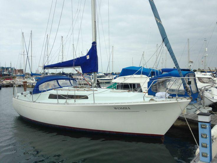 Sailing boat Moody yacht 30
