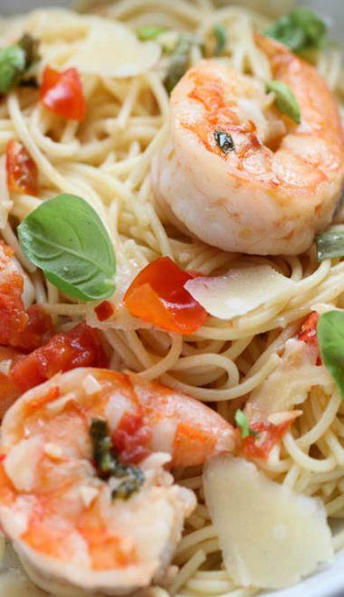 Shrimp Scampi Pasta | Recipe
