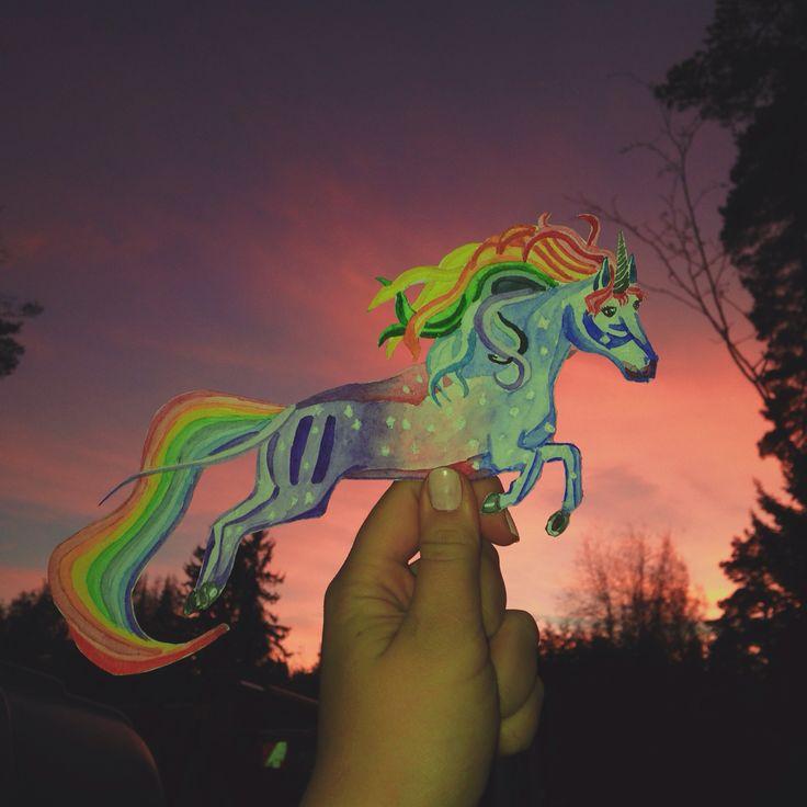 Unicorns are prefect. I wish I was one