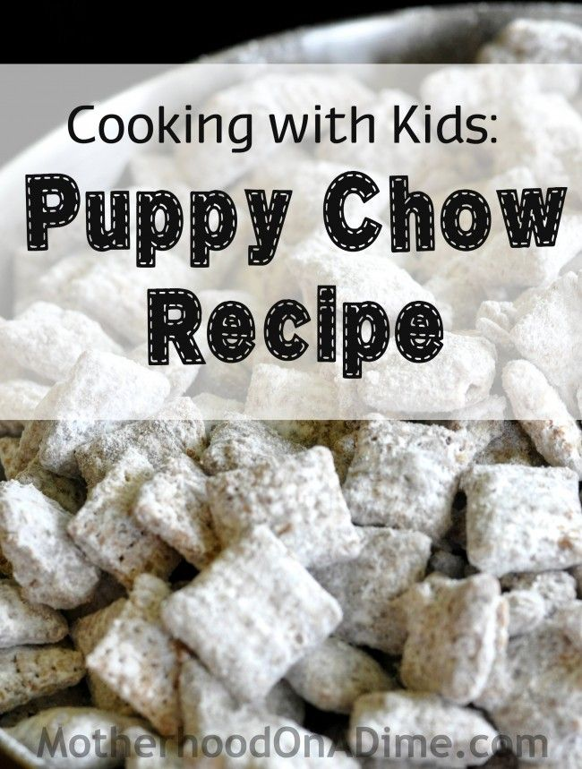 I really love cooking with the girls and finding easy recipes to make with them, so when they ran across the recipe for Chex Muddy Buddies about a month ago, we decided to give it a try. For some reason, I had never attempted to make it before. Fortunately,...