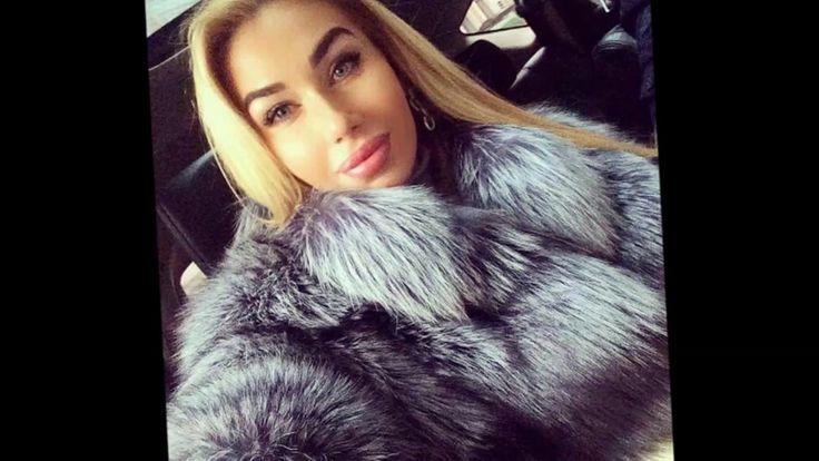 Woman In Silver Fox Fur Part 1