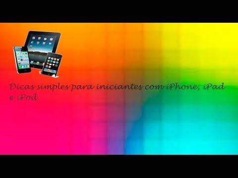 Dica #14 iPhone iPod e iPad - Como Adicionar Fotos e Vídeos a um E-mail ♡ ♥