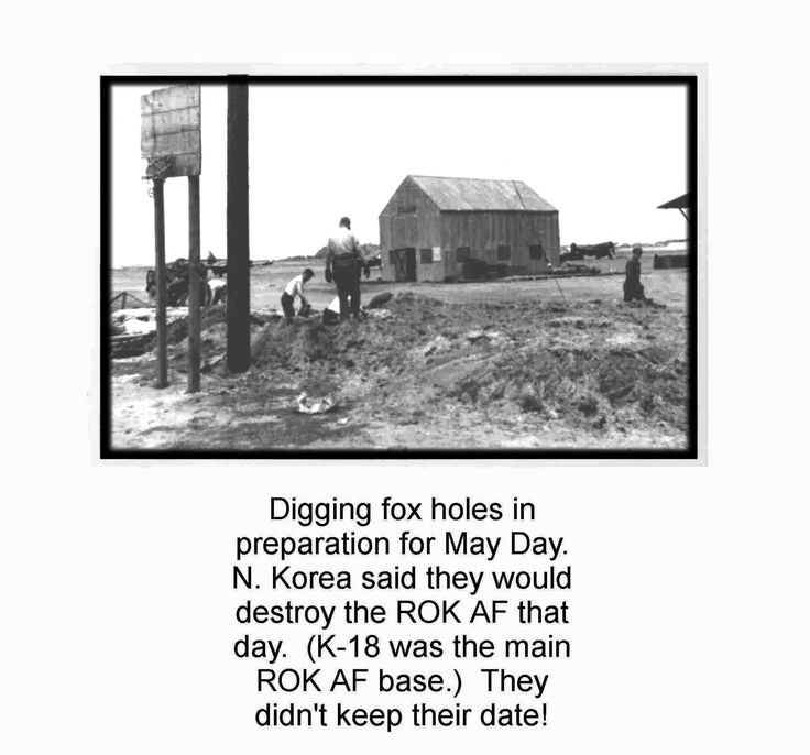 https://flic.kr/p/d9A5sC | K-18 - 06 Foxholes - Bill Leisher  (FASRON-11) - Over 500 Views | Provided by Bill Leisher (USN)