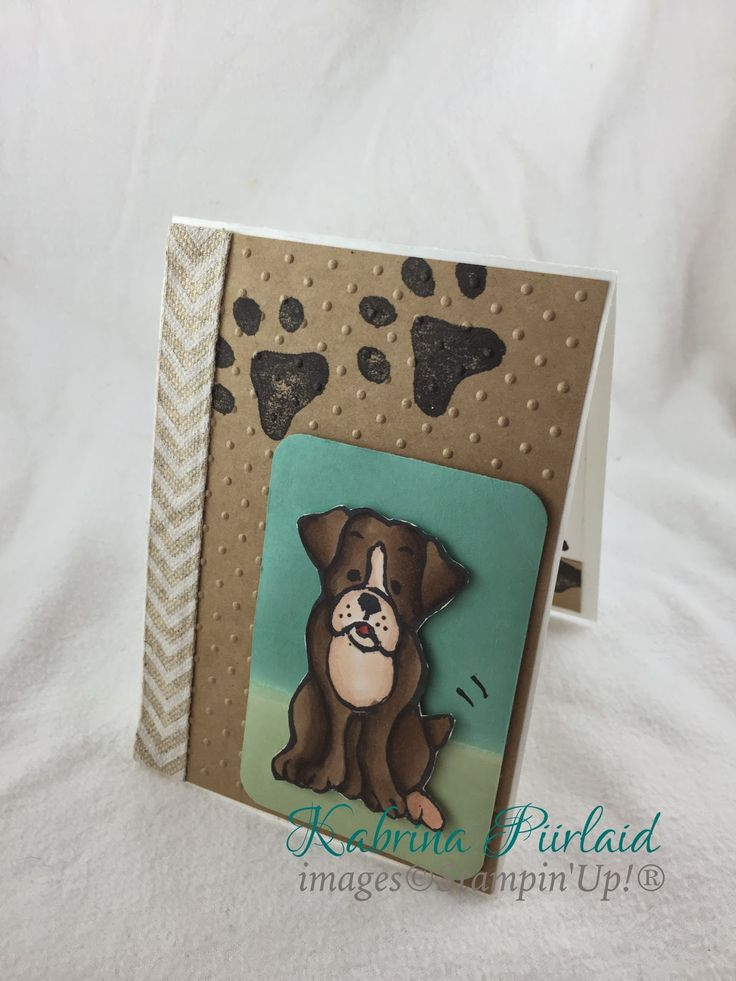 By Kabrina Piirlaid | INKspired Artists Blog Hop - Sketch 3 | Stampin'Up!