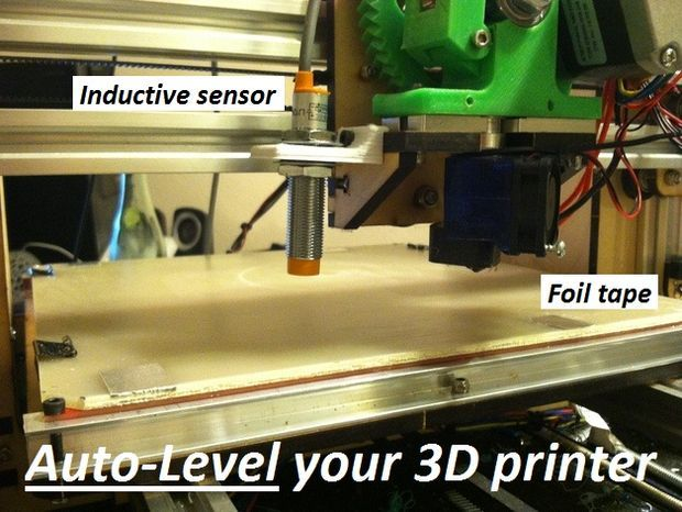 Picture of Enable Auto Leveling for your 3D Printer with an inductive sensor (Marlin Firmware)