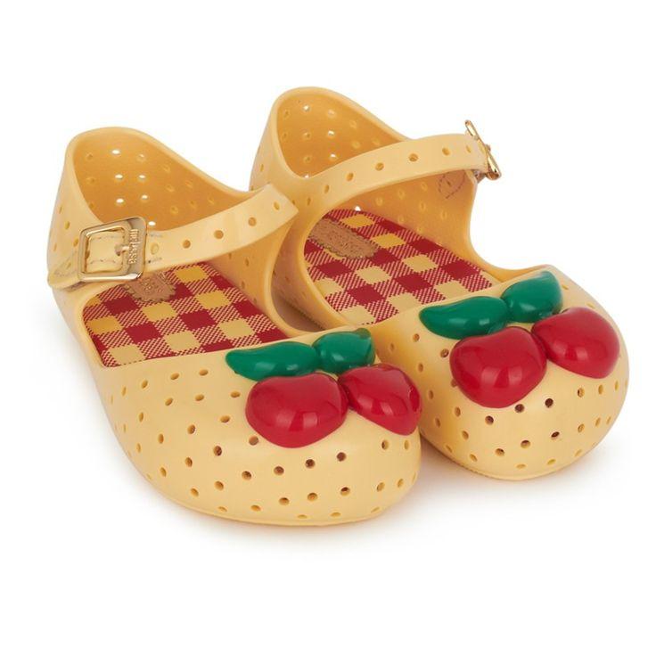 Mini Melissa - Lemon Cherry Jelly Sandals