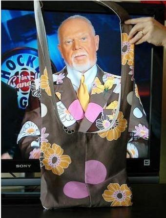 Don Cherry Looks Like A Lady's Handbag... That's a problem...