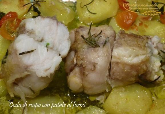 coda di rospo http://www.pastaenonsolo.it/coda-di-rospo-con-patate-al-forno/