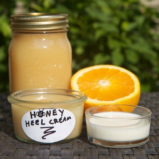 Make Your Own Honey Heel Moisturizer for Dry, Cracked Heels