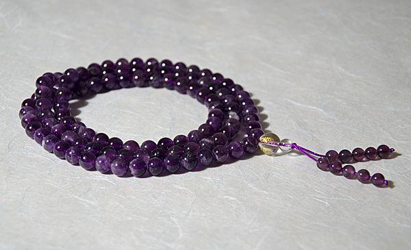 Ziji - Amethyst Mala, $48.50 (http://www.ziji.com/products/meditation-supplies/mala-beads/amethyst-mala/)