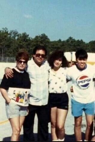 Marcella, Abraham, Selena, and A.B