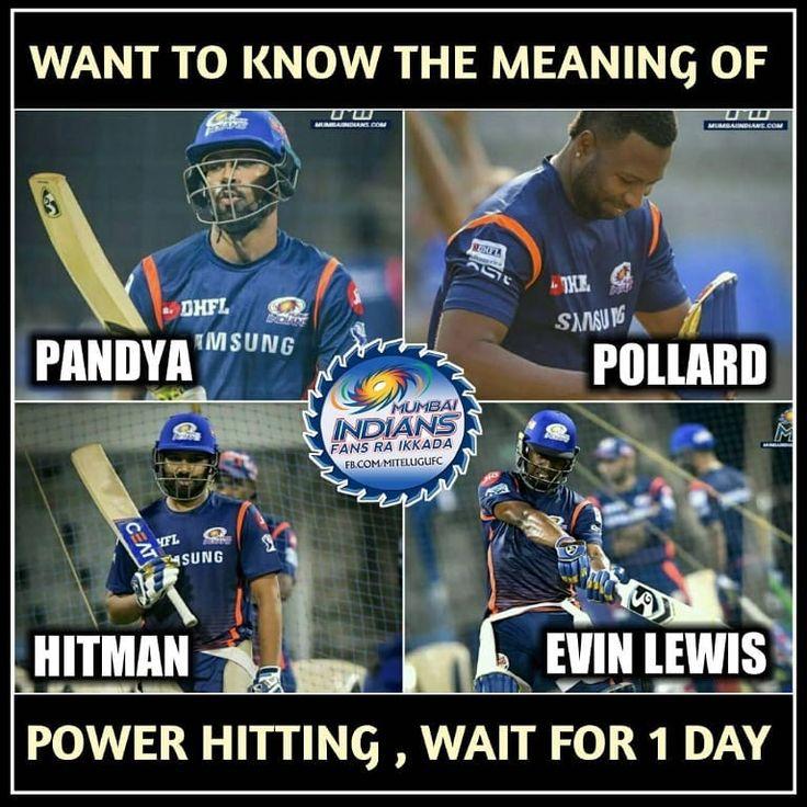 Tomorrow🔥🔥 Mumbai indians ipl, Mumbai indians, Sports memes