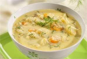 Zupa kalafiorowo-serowa / Cauliflower-cheese soup www.winiary.pl