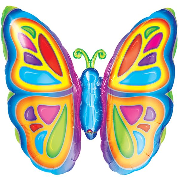 Bright Butterfly Super Shape