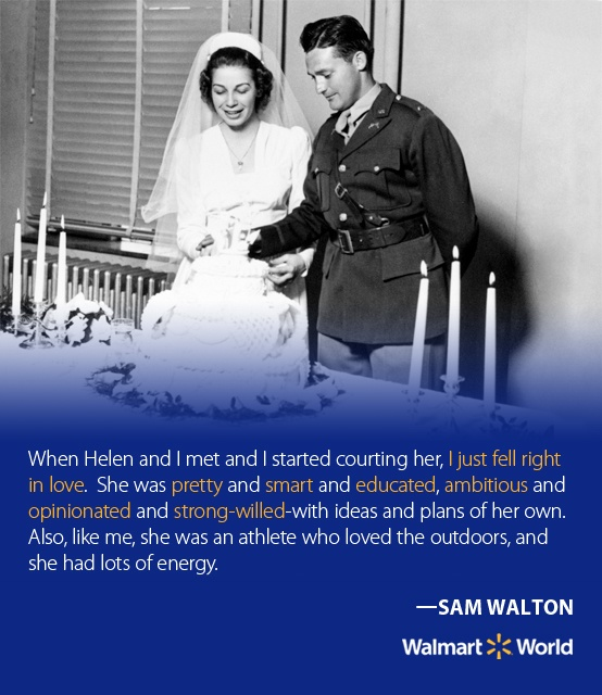 sam walton management style  retail store wal-mart learn sam walton's winning formula for business  success  the management disagreed with his vision undaunted.