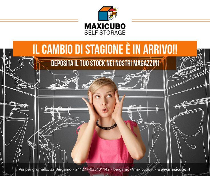 Noi siamo pronti e tu? Trova il #Box che fa al caso tuo! Per maggiori info contattaci al numero 035401142 o scrivici a bergamo@maxicubo.it http://www.maxicubo.it/service-category/servizi/ #Maxicubo #Selfstorage #Deposito #Bergamo