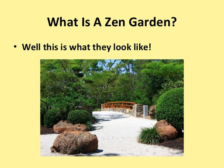 http://www.slideshare.net/Japzen/what-is-a-zen-garden
