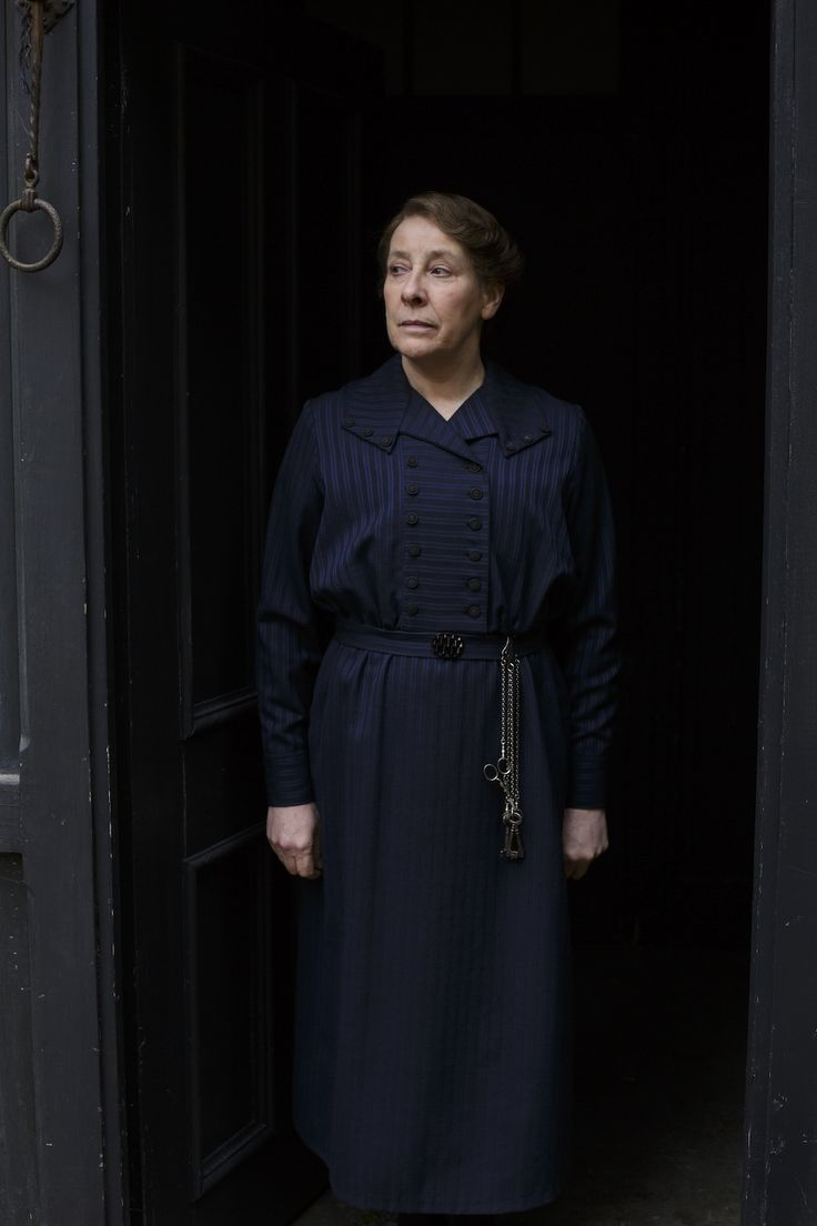 Stalwart housekeeper Mrs Hughes is tough and unsentimental, but also fair and decent. This series sees her moral strength and compassion tested to the limit as she is forced to keep a secret with one of her most trusted staff. Our below-stairs matriarch also extends a helping hand to Molesley in his time of need, and nudges Carson to confront an uncomfortable issue from his past. Played by Phyllis Logan.