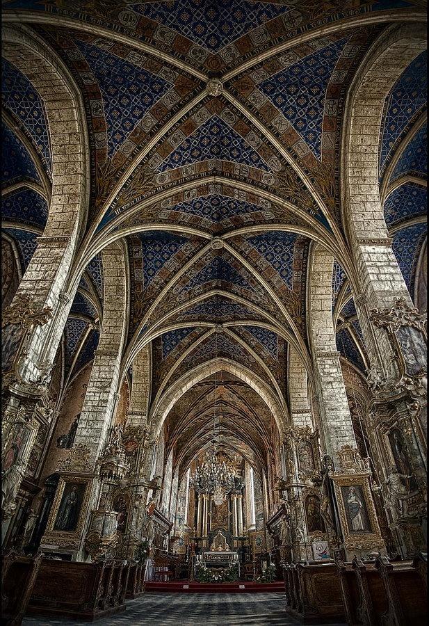 .Cathedral in Sandomierz