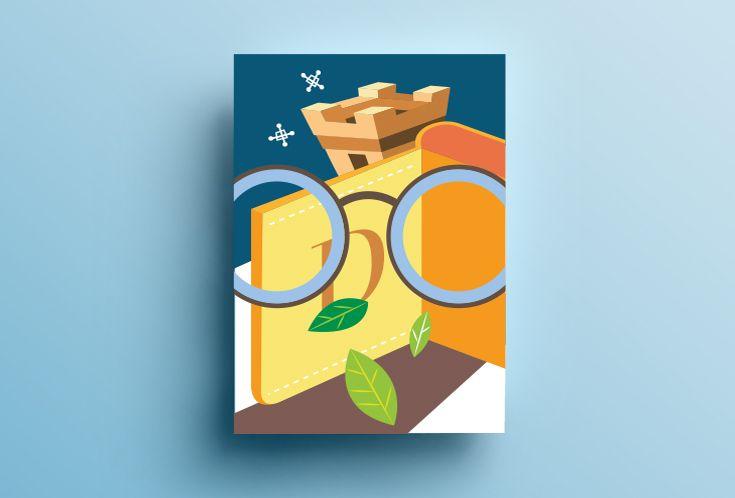 Dippold the optician - Spoon River Project by Henry&co. Design with Antonella Manenti  Illustration by: Antonella Manenti