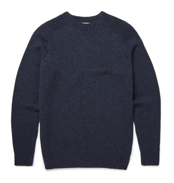This soft lambswool jumper is knitted in Scotland on a circular knitting machine which means a smooth, seamless construction. The multi-twist yarn is spun in Scotland, with an exclusive selection of colours twisted together to give a rich texture. Once