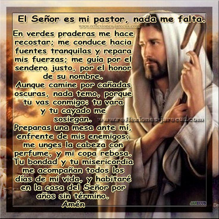 El Señor es mi Pastor, nada me falta