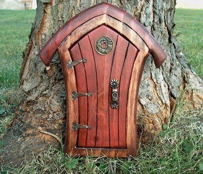 """""""Fairy Door"""" Ann Arbor, Michigan.  They have these in Frankenmuth, MI too at a River Place shopping store-These are just awesome!"""