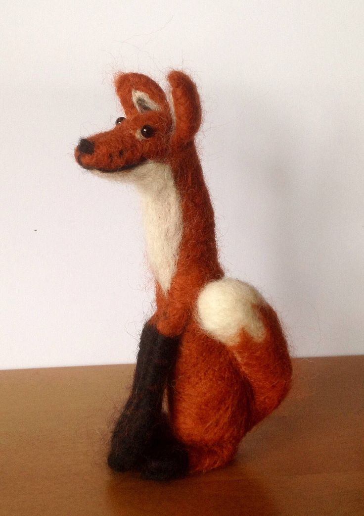 A personal favourite from my Etsy shop https://www.etsy.com/uk/listing/513192904/kit-to-make-one-needle-felted-fox-from