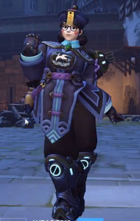 New Mei skin for Halloween event!