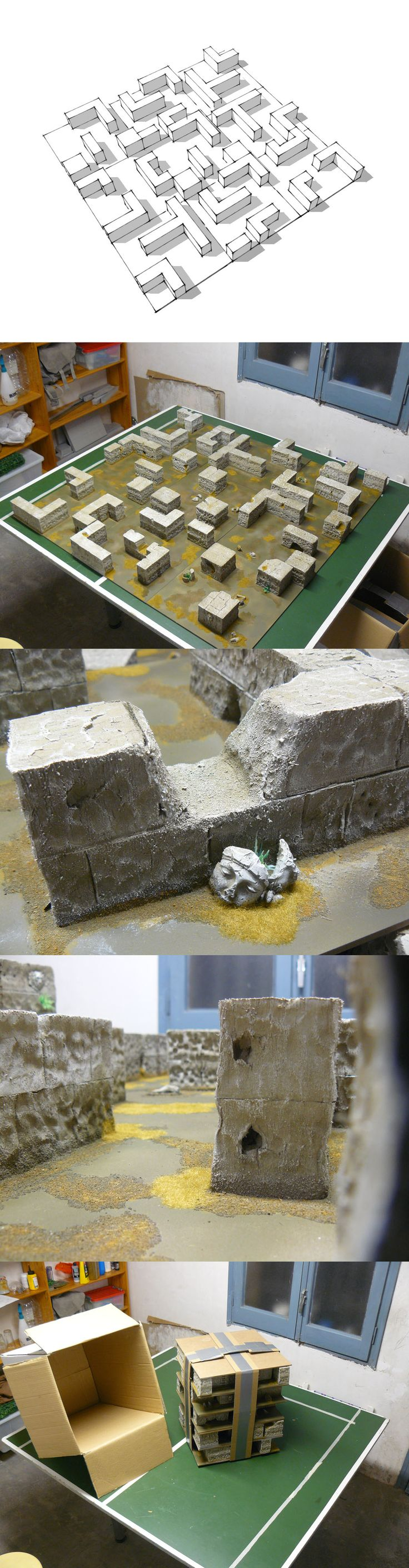 Modular Infinity board by the Barcelona team miniatures minis tabletop resource tool how to tutorial instructions | Create your own roleplaying game material w/ RPG Bard: www.rpgbard.com | Writing inspiration for Dungeons and Dragons DND D&D Pathfinder PFRPG Warhammer 40k Star Wars Shadowrun Call of Cthulhu Lord of the Rings LoTR + d20 fantasy science fiction scifi horror design | Not our art: click artwork for source