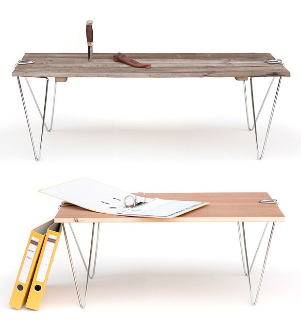 Tick Universal Table Leg System: Idea, Diy Table, Patio Tables, Tick Table, Table Proyect, Table Legs, Universal Table