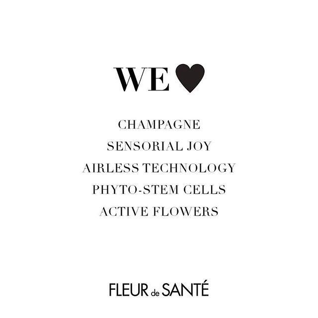 W E  L O V E : Champagne, Sensorial Joy, Airless Technology, Photo-Stem Cells, Active Flowers! - - - - www.fleurdesante.com - #fleurdesante #texture #champagne #airless #airlessbottles #luxuryskincare #beauty #skincare #skincareroutine #nature #flower #phytostemcell #newproduct #newskincare #luxurybrand #daycream #serum #nightcream #love #french #swedish