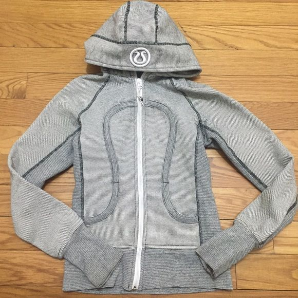 Lululemon Scuba Hoodie Good condition Size : 2 Have minor ripped at the end of the hand, but not visible. Nice and perfect scuba hoodie lululemon athletica Jackets & Coats