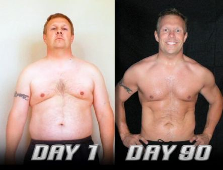 p90x program for weight loss