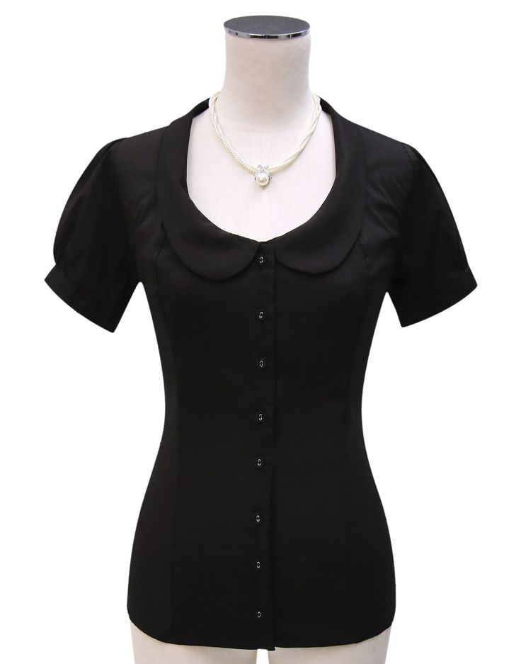 Serendipity Black Shirt