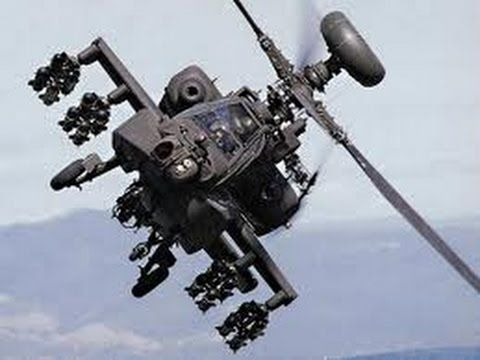 AH-64 Apache Helicopter Attacks ISIS IRAQ Compilation - YouTube