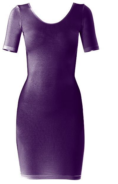 "Very pretty dark ""Purple Passion"" Bodycon dress by Khoncepts"