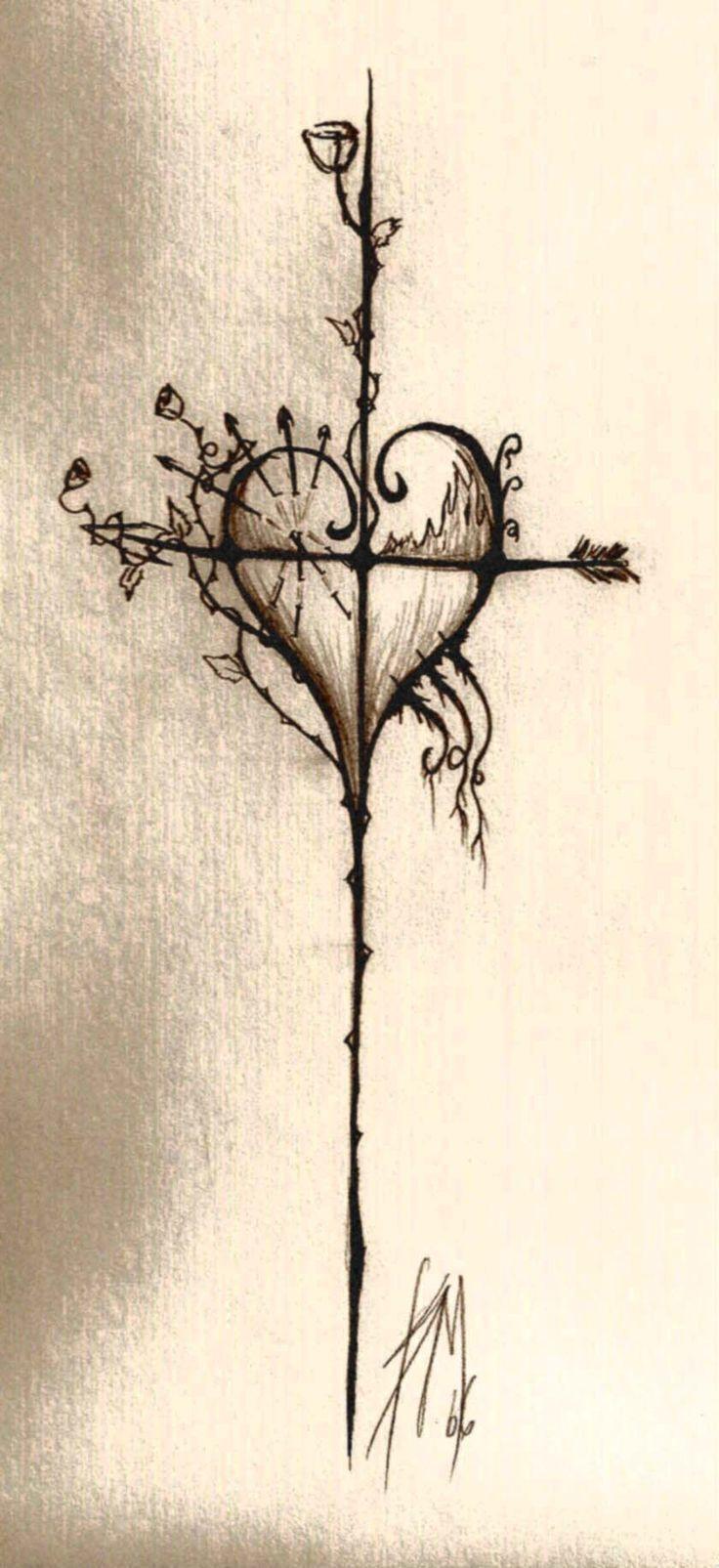 ❥❥❥Lindo corazón / heart, me gustaría para un tatuaje❥❥❥