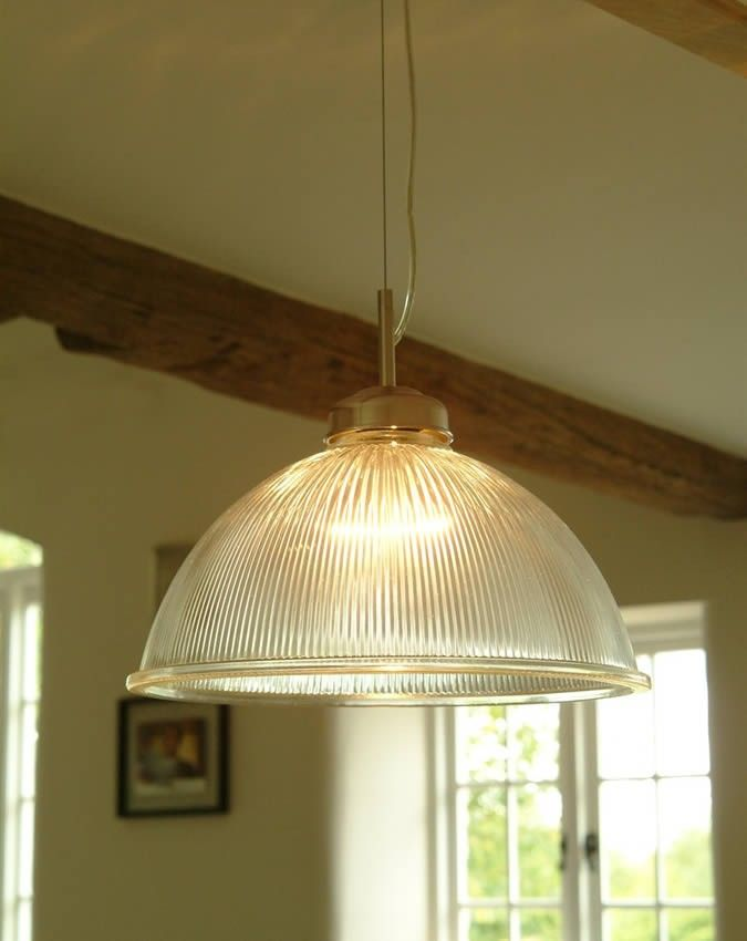 Parisian Glass Pendant Light Large