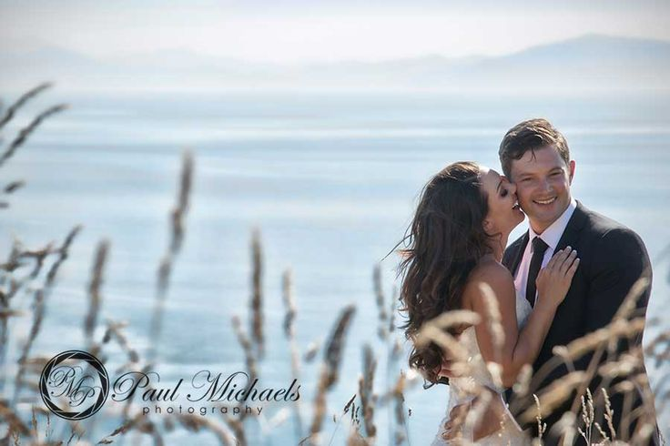 Happy couple at Boomrock. New Zealand #wedding #photography. PaulMichaels of Wellington www.paulmichaels.co.nz