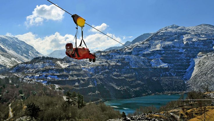 Zip World Velocity ...The longest zip line in Europe and the fastest in the world