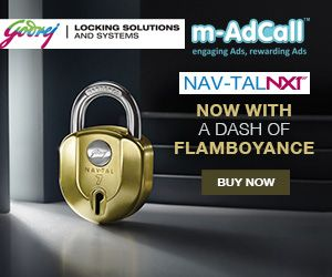 Go Godrej Navtal NXT Padlock …Go Safe...  Here Go Godrej Navtal NXT Padlock using m-AdCall for targeting every individuals focusing on the safety of their home,valuable materials and security stuff covering each and every city. Here are the campaign details:  http://goo.gl/HGC9cz