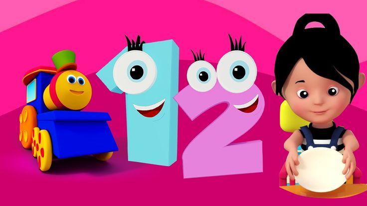 um dois fivela meu sapato | canções para crianças | Bob The Train | One ...Hi Kids! É números contando o tempo com Bob o trem, mas nós não o faremos no estilo enfadonho usual. Vamos cantar para você. Um dois fivela meu sapato. Três quatro batem na porta. #crianças#pais#toddlers#poesiainfantil#rimas#préescolar #jardimdeinfância #educaçãoescolaremcasa#bebê #aprendendo #berçáriorimas #BobthetrainPortuguese