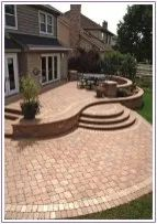 30+ best stone patio ideas for your outdoor patio in backyard 00007