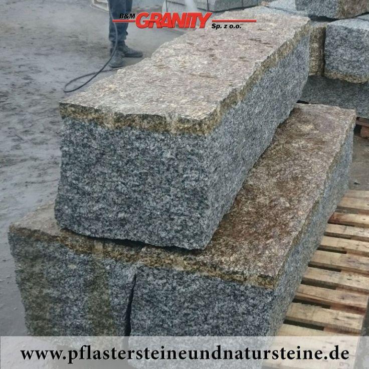 b m granity granit mauersteine aus polen grau gelb mittelkorn allseitig gespalten es gibt. Black Bedroom Furniture Sets. Home Design Ideas